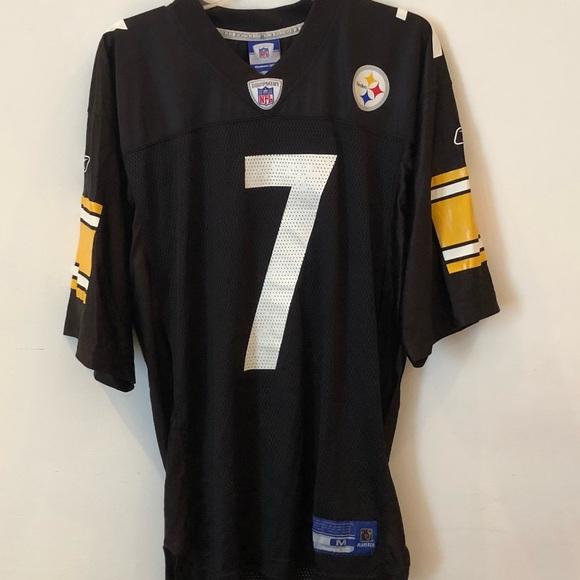 cb84ea84551 Reebok NFL Steelers Roethlisberger jersey